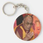 Dalai Lama Photo / The Dalai Lama Tibet Basic Round Button Key Ring