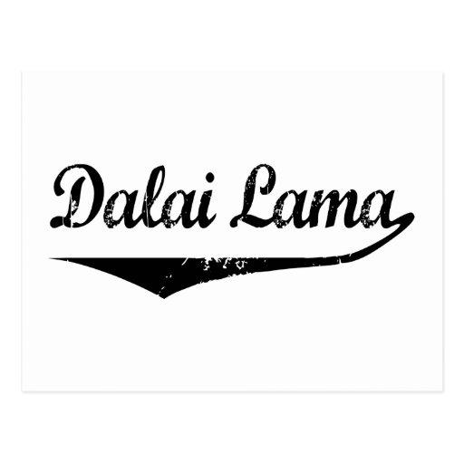Dalai Lama Postcard