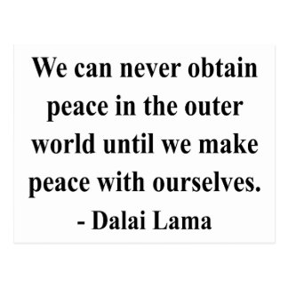 dalai lama quote 10a postcard