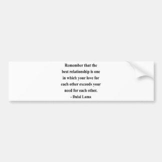 dalai lama quote 11a bumper stickers