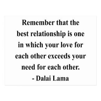 dalai lama quote 11a postcard
