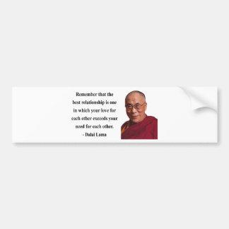 dalai lama quote 11b bumper sticker