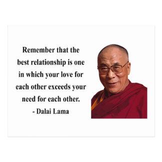 dalai lama quote 11b postcard