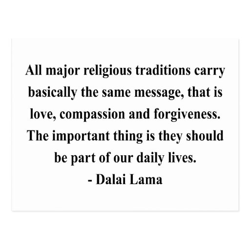 dalai lama quote 12a postcards