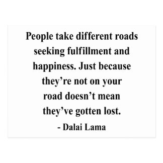 dalai lama quote 1a postcard