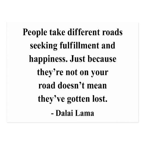 dalai lama quote 1a post cards