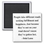 dalai lama quote 1a square magnet