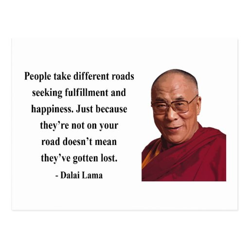 dalai lama quote 1b postcard