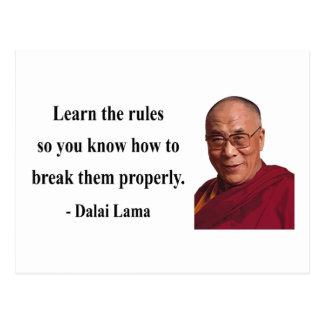 dalai lama quote 2b postcard