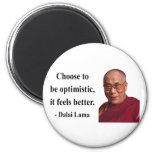 dalai lama quote 4b fridge magnet