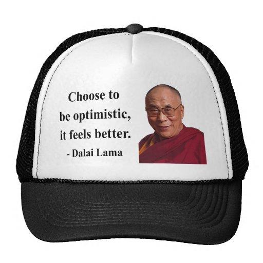 dalai lama quote 4b mesh hats