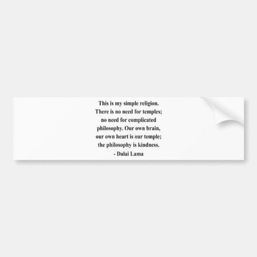dalai lama quote 6a bumper sticker