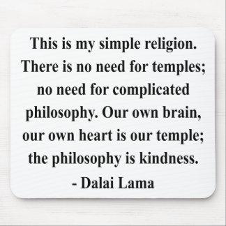 dalai lama quote 6a mouse pads