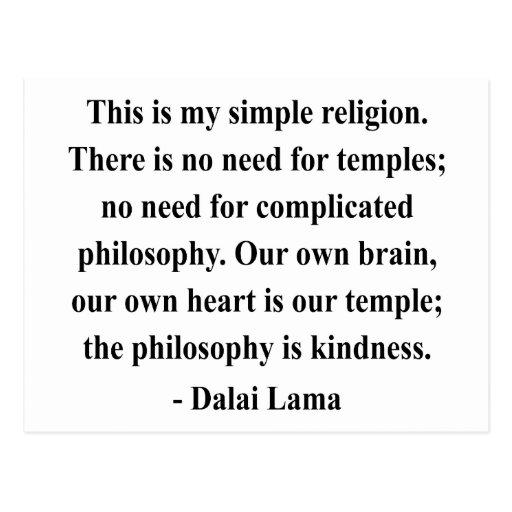 dalai lama quote 6a post cards