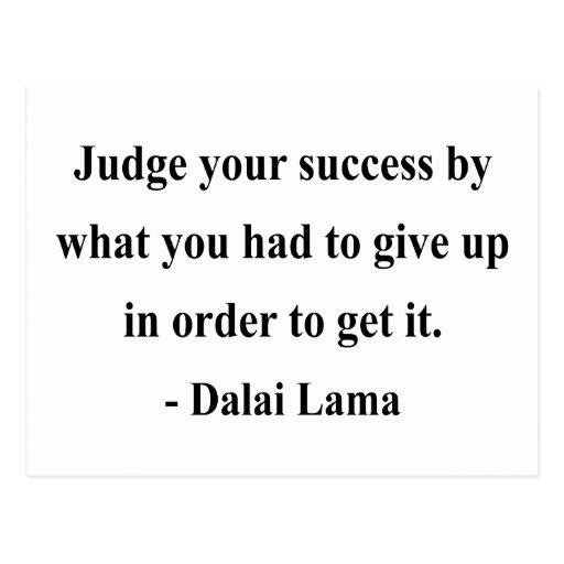 dalai lama quote 7a post cards