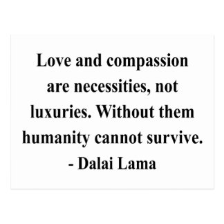 dalai lama quote 8a postcard