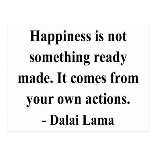 dalai lama quote 9a post cards