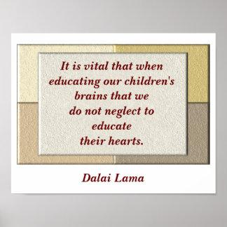 Dalai Lama quote - poster