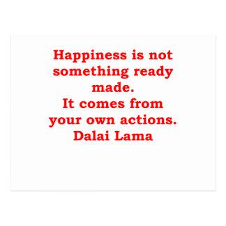 dalai lama quotes post card