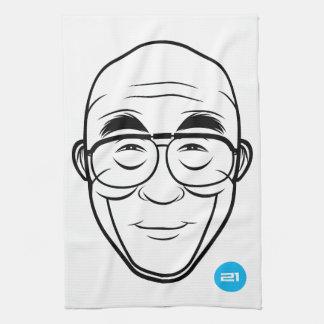 Dalai Lama T-Towel Tea Towel