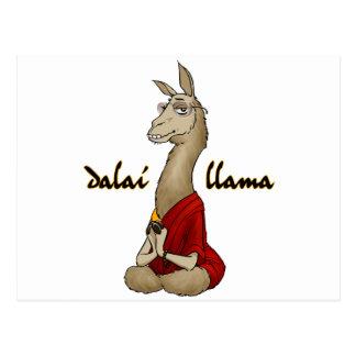 Dalai Llama Postcard