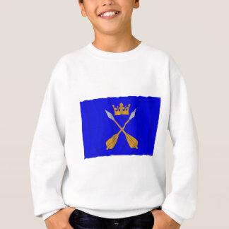Dalarnas län waving flag sweatshirt