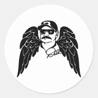Dale Angel Wings Sticker