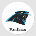 Dale City Sports Club Panthers Under 6 Round Sticker
