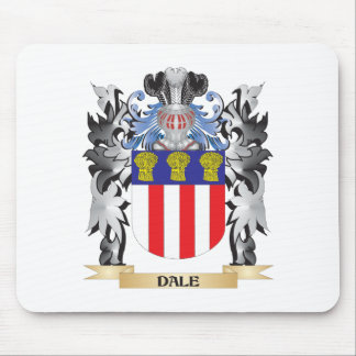 Dale Coat of Arms - Family Crest Mouse Pad