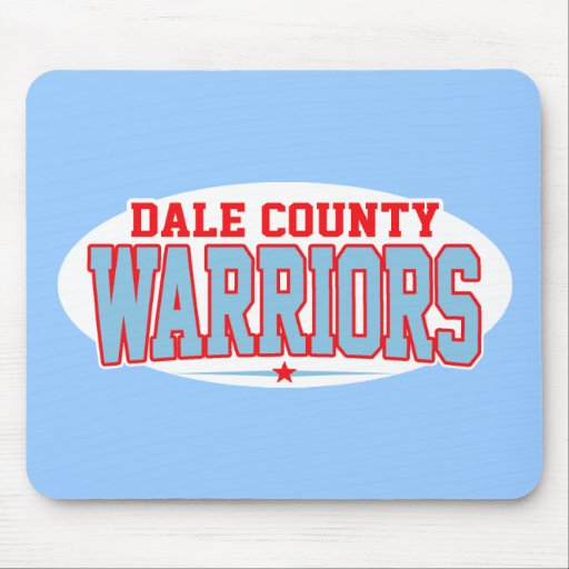 Dale County High School; Warriors Mouse Pads