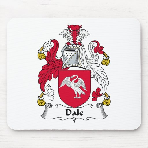 Dale Family Crest Mouse Mat