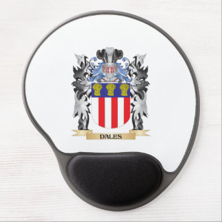Dales Coat of Arms - Family Crest Gel Mouse Pad