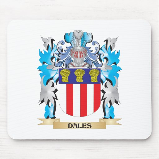 Dales Coat of Arms - Family Crest Mousepad