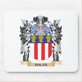 Dales Coat of Arms - Family Crest Mouse Pad