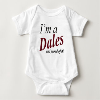 Dales Family Baby One Piece T-Shirt