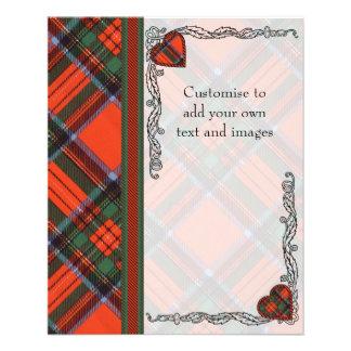 Dalglesh clan Plaid Scottish kilt tartan 11.5 Cm X 14 Cm Flyer