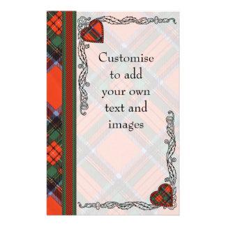 Dalglesh clan Plaid Scottish kilt tartan 14 Cm X 21.5 Cm Flyer