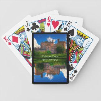 Dalhousie Castle, Midlothian, Scotland Bicycle Playing Cards