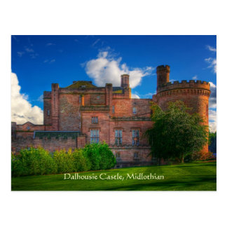 Dalhousie Castle, Midlothian, Scotland Postcard
