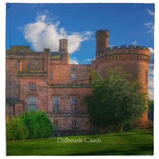 Dalhousie Castle, Midlothian, Scotland Printed Napkin