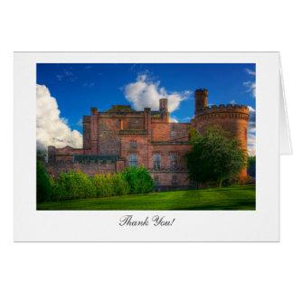 Dalhousie Castle, Midlothian - Thank You Greeting Card