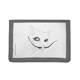 Dalì Cat Tri-fold Wallets