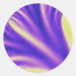 Dali. Round Sticker