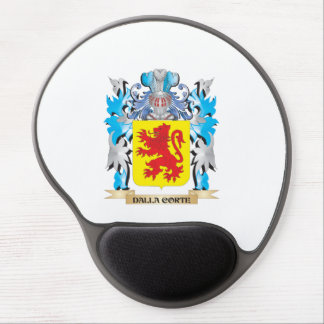 Dalla-Corte Coat of Arms - Family Crest Gel Mousepads