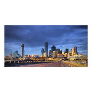 Dallas #5257 photo card template