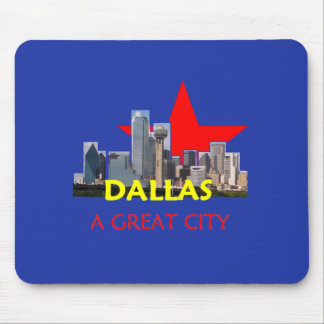 DALLAS A Great City Mousepad