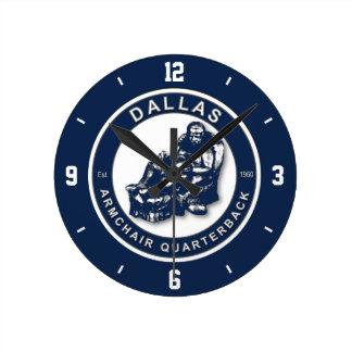 Dallas Armchair Quarterback Wall Clock