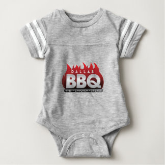 Dallas BBQ  Baby Football Bodysuit