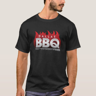 Dallas BBQ Men's Basic Dark T-Shirt