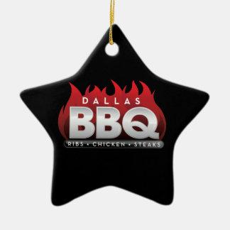 Dallas BBQ Star Ornament